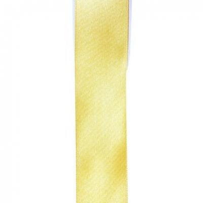 Ruban satin jaune 15mm x 25m (x1) REF/2719