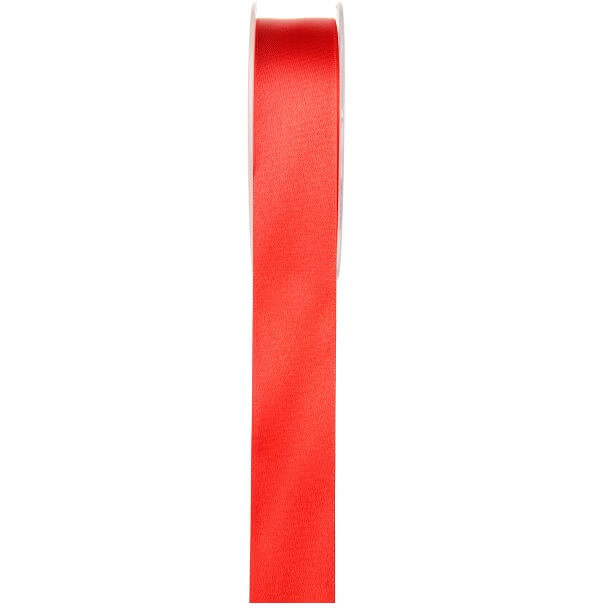 Ruban satin rouge 6mm x 25m