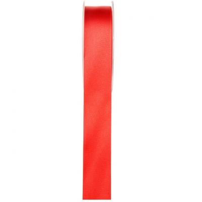Ruban satin rouge 6mm x 25m (x1) REF/70080