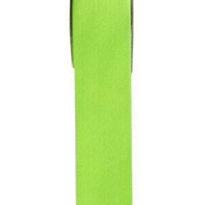 Ruban satin vert anis 15mm x 25m (x1) REF/2719