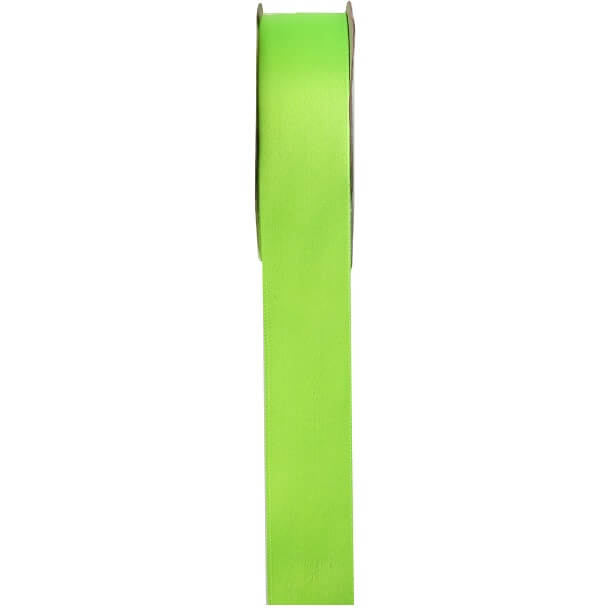 Ruban satin vert anis 6mm x 25m