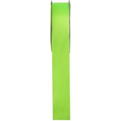 Ruban satin vert anis 6mm x 25m (x1) REF/2719