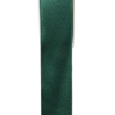 Ruban satin vert foncé 15mm x 25m (x1) REF/2719