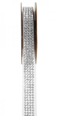 Ruban strass autocollant transparent (x1) REF/5267