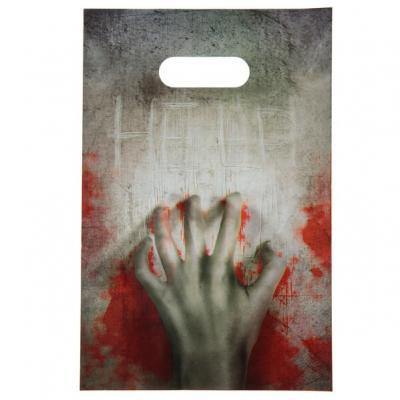 Sac à bonbon Halloween: Zombie (x10) REF/5893