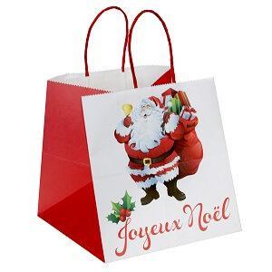 Sac joyeux Noël, 20cm (x1) REF/5141