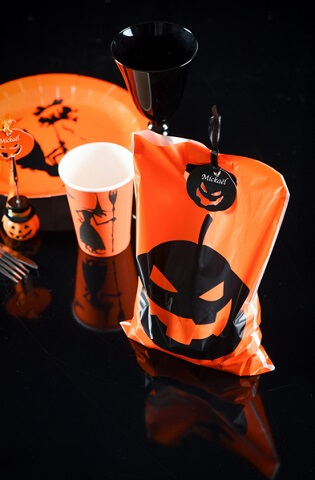 Sachet a bonbon halloween