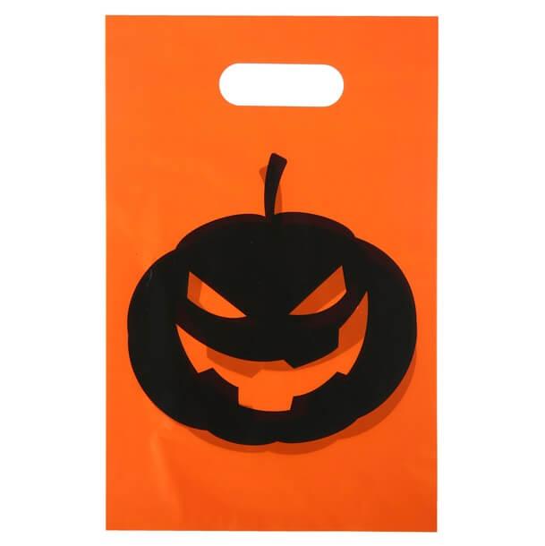 Sachet bonbon halloween citrouille