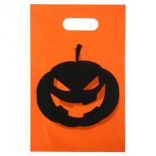 Sac à bonbon Halloween: Citrouille (x10) REF/4800