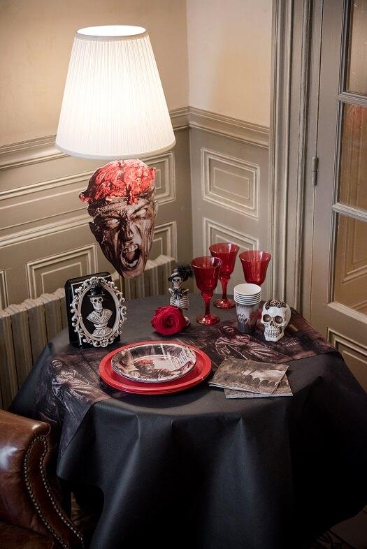 Sachet bonbon halloween zombie