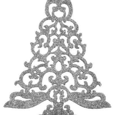 Sapin de table pailleté (x1) REF/4434
