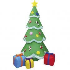 Sapin de Noël gonflable et lumineux en location pour votre fête (x1) REF/EV-429