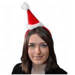 Serre-tête bonnet de noël (x1) REF/NUD653
