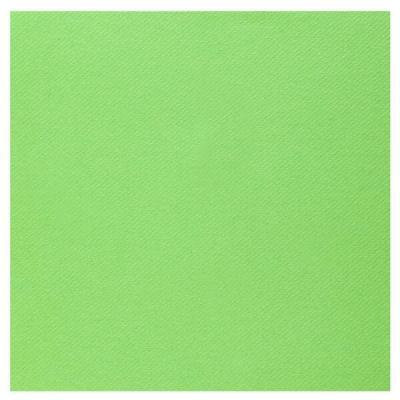 Serviette de table Airlaid vert pomme (x25) REF/6808