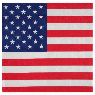 Serviette de table Amérique: USA (x20) REF/4771