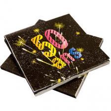 Serviette anniversaire 50ans (x20) REF/AA2005CH/SV50