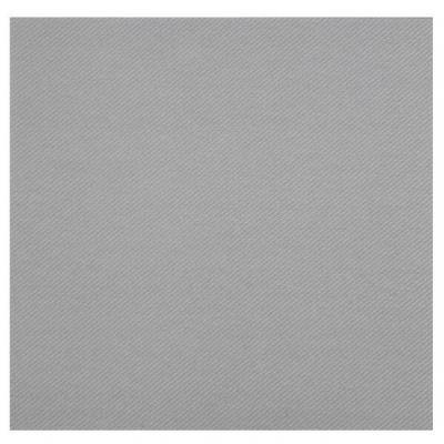 Serviette de table Airlaid grise argentée (x25) REF/6808