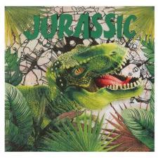 Serviette de table en papier dinosaure