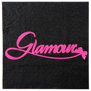 Serviette de table glamour 1