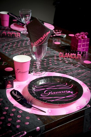 Serviette de table glamour 4