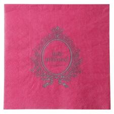 Serviette de table just married fuchsia (x20) REF/3968