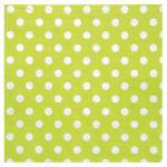 Serviette de table pois verte (x20) REF/3051