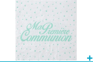 Serviette de table pour communion