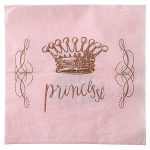 Serviette de table princesse (x20) REF/3948
