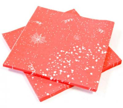 Serviette de table rouge (x20) REF/JET001SV