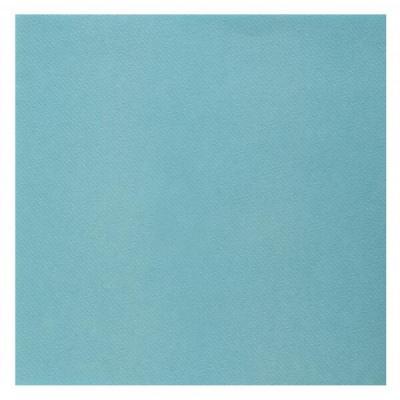 Serviette de table Airlaid bleu ciel (x25) REF/6808