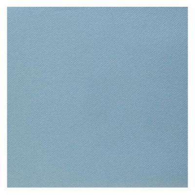 Serviette de table Airlaid bleu pâle (x25) REF/6808
