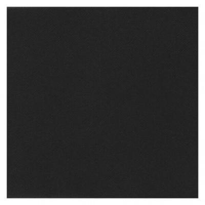 Serviette de table Airlaid noir (x25) REF/6808