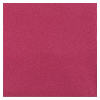 Serviette de table Airlaid rose fuchsia (x25) REF/6808