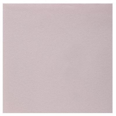 Serviette de table Airlaid rose clair/pâle (x25) REF/6808