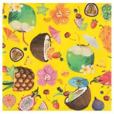 Serviette de table tropicale cocktail (x20) REF/6350