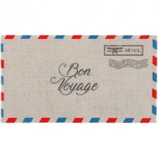 Serviette voyage autour du monde avec courrier postal (x20) REF/7381