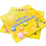 Serviette joyeux anniversaire (x20) REF/AA1005PP/SV