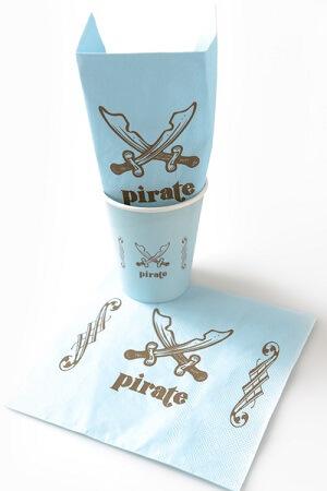 Serviette pirate