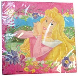 Serviette princesse 2