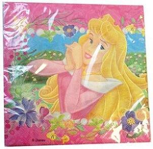 Serviette de table princesse (x16)