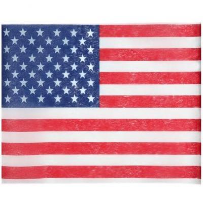 Set de table Amérique USA tricolore 30cm x 5m (x1) REF/4846