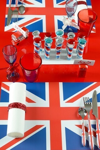 Set de table angleterre 3