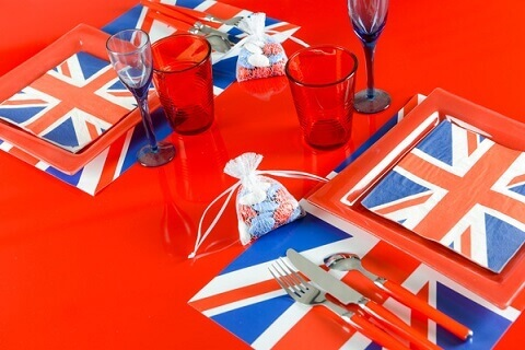 Set de table angleterre 8