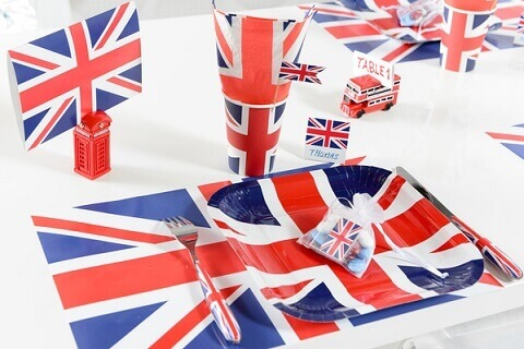 Set de table angleterre 9