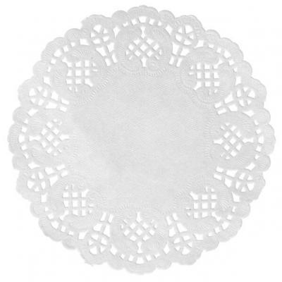 Set de table dentelle blanc (x10) REF/5055