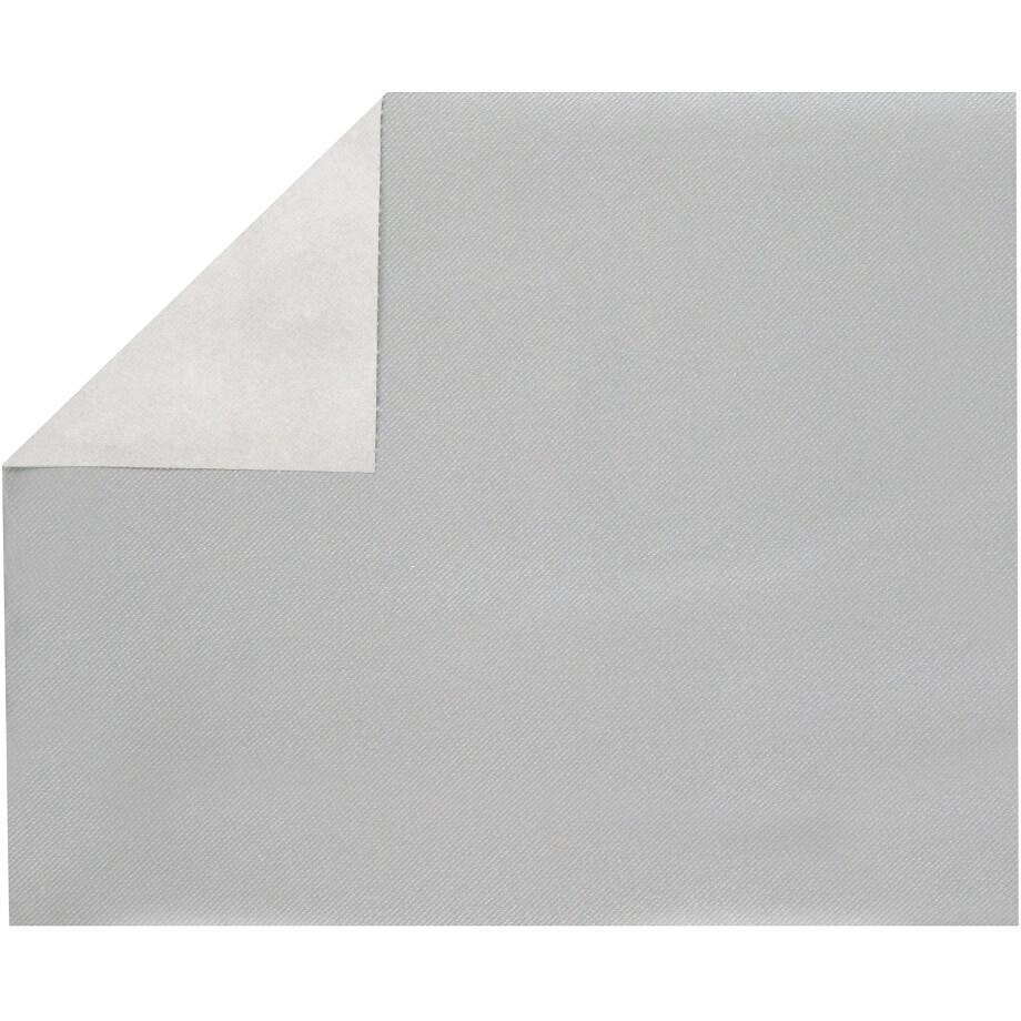 Set de table elegant tissu jetable airlaid argent