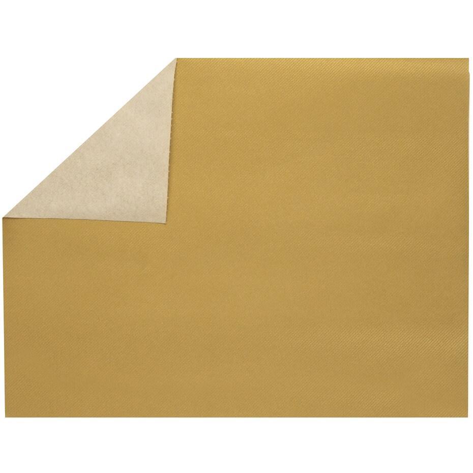 Set de table elegant tissu jetable airlaid or