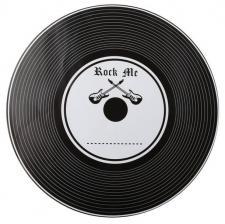 Set de table musique : Vinyle (x6) REF/70095