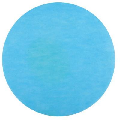 Set de table rond bleu turquoise (x50) REF/2812