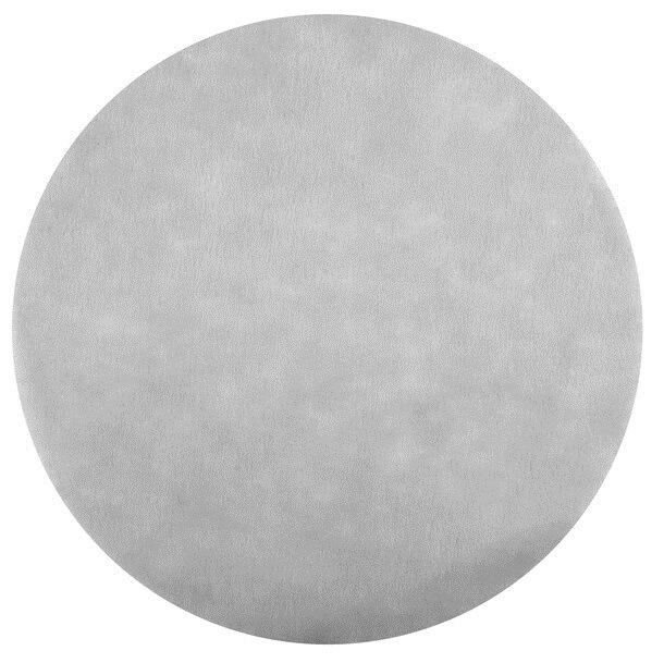 Set de table rond gris 1